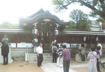 清明神社にて